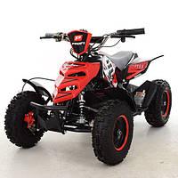 Детский электрический квадроцикл 800W Profi ATV 5E-3 красный, фото 1