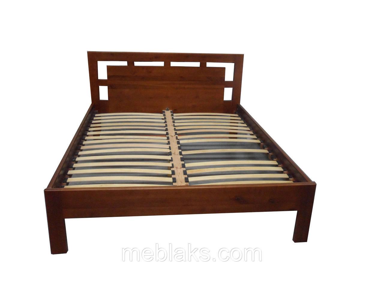 """Кровать из натурального дерева """"Рамка""""  Voldi"""