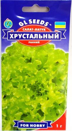 Салат Хрустальний (латук) 1г (GL Seeds)