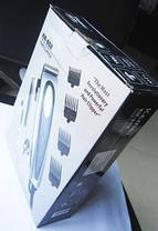 Машинка для стрижки Kemei KM-652 четыре насадки, фото 2