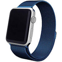 Ремінець для Apple iWatch 38mm Milanese Loop Band ser. Dark Blue(993657)