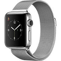 Ремінець для Apple iWatch 38mm Milanese Loop Band ser. Silver(993671)