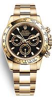 Часы Rolex Cosmograph Daytona Gold механика,ролекс дайтона черные,качество ААА Оригинал