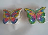 Бабочки декор на двойном скотче