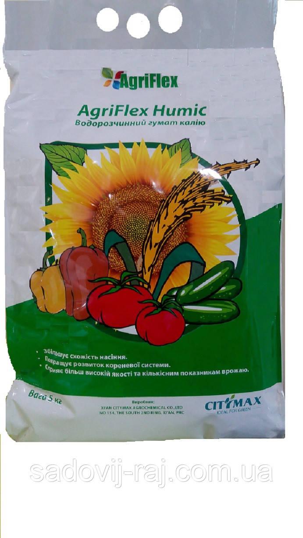 Агрифлекс гумик (Гумат калия), 25 кг CityMax Agrochemical