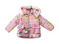 Куртка детская для девочек весна-осень с 2-4 лет