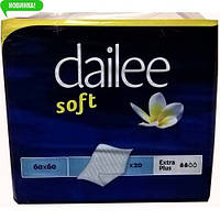 Пеленки Dailee Soft Extra Plus 60х60 см 20 шт