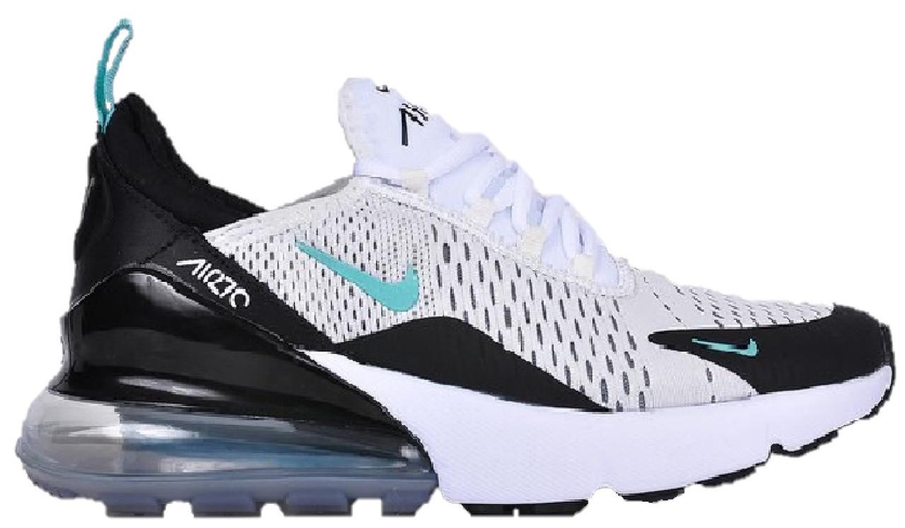 ebc4562b Мужские кроссовки Nike Air Max 270 White/Black - Магазин обуви Brand Market  (бренд