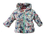 Куртка детская для девочек весна-осень с 2-3 лет