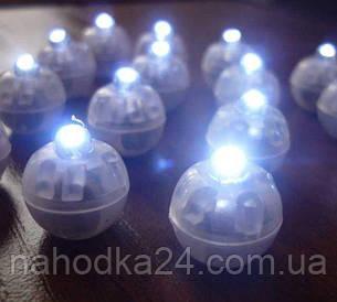 Светодиод белый для гелиевых шаров, фото 2