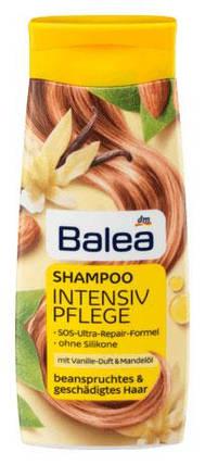 Шампунь Balea Intensiv pflege с ароматом ванили и миндальным маслом для поврежденных волос 300мл, фото 2