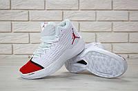 Мужские кроссовки Nike Jordan Melo M13 White Red
