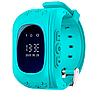 Детские смарт-часы с GPS трекером Q50 (blue) 1482