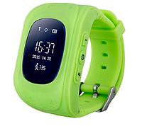 Детские смарт-часы с GPS трекером Q50 (green) 1481, фото 1