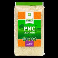 Рис жасмин, Natural Green, 400 г
