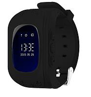 Детские смарт-часы с GPS трекером Q50 (black) 1483, фото 1