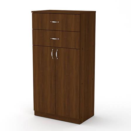 Шкаф Книжный КШ-14 Офисный Компанит, фото 2