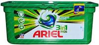 Универсальные гелевые капсулы для стирки Ariel 3 в 1 для белого