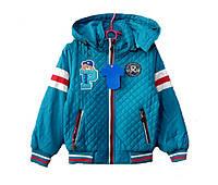 Куртка детская весна-осень для мальчиков с 92 до 116