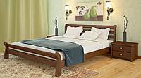 Дерев'яне ліжко з вільхи Соната фабрики Woodland