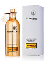 Tester Montale Amber And Spices
