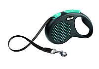 Поводок-рулетка Flexi DESIGN (Флекси Дизайн) Tape L лента 5 м для собак до 50 кг (цвет в ассортименте)