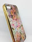 Чехол iPhone 5/5s/SE Flowers&Diamonds 1, фото 2