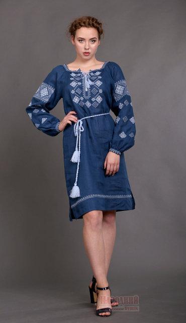 d37cbd93a04c71 Жіноче вишите плаття з льону Віконце: продажа, цена в Яготині. сукні ...