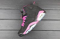 Кроссовки женские Nike Air Jordan 6 / AJW-154 (Реплика)