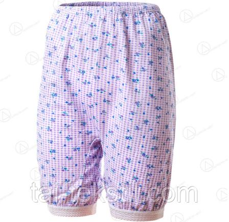 Панталоны женские с широкой резинкой POLAT рисунок сирень в цветочек №10 (50-54р), фото 2