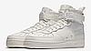 Мужские кроссовки Найк SF Air Force 1 Mid White Реплика