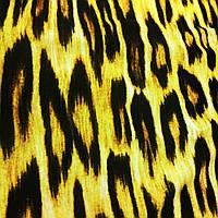 Трикотаж теплый 90см*60см тигра  мерный лоскут