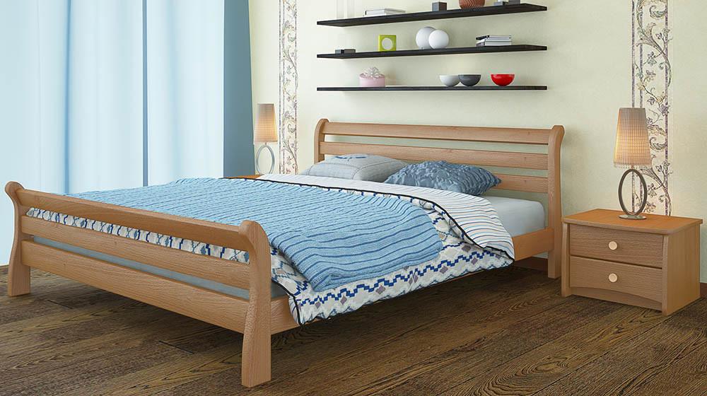 Деревянная кровать Соната Люкс 120*190