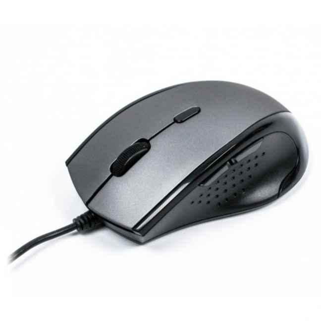 Мышь A4 Tech N-740X Glossy Grey USB