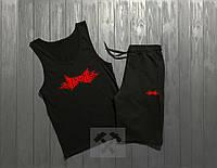 Летний спортивный костюм, комплект Tapout (майка + шорты)
