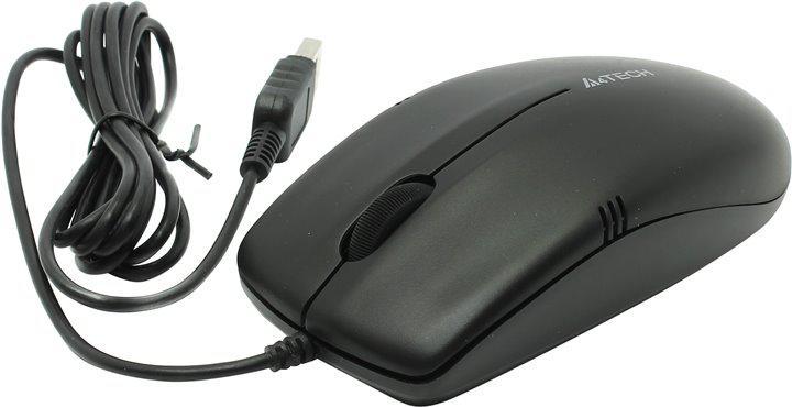 Мышь A4 Tech OP-530NU-1 Black USB
