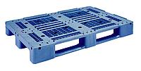 Пластиковые поддоны перфорированные стеллажные 1200 х 800 вторичные Первичный