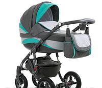 Детская универсальная коляска Adamex Barletta New B-2 (2 в1) купить оптом и в розницу в Одессе 7 км