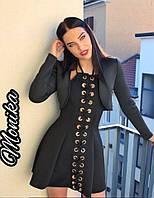 Стильное платье с болеро 2791а