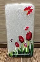 Силиконовый чехол-накладка для Xiaomi MI5X/A1 (Tulips)