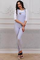 Модный женский длинный комбинезон с микимаусом 90272/2, фото 1