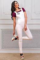 Модный женский длинный комбинезон с микимаусом 90272/3 48