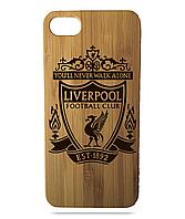 """Дерев'яний чохол  Wooden Cases для Apple iPhone 6/6s з лазерним гравіюванням """"Liverpool"""""""