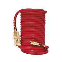 Шланг спиральный полиуретановый армированный 10м 6.5×10мм Refine 7013471