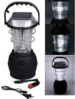 Переносной светодиодный фонарь на солнечной батарее (36 LED)  Новинка!