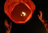 Небесные фонарики сердце Киев