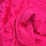 Ткань натуральная шелк-поплин набор 4куска (80см *135см + 60см* 135+50*135+78*135)фуксия яркий мерный лоскут, фото 3
