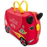 Чемодан детский на колесах Автомобиль Rocco Trunki TRU0321