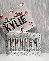 Серебрянный набор помад Kylie (Кайли) MATTE LIQUID HOLIDAY EDITION  Новинка!