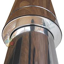 Стакан для дымохода 160 мм из нержавеющей стали «Версия Люкс», фото 3